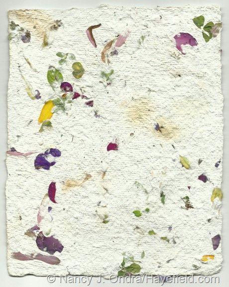 Pressed flower paper yelomdiffusion handmade paper diys flower and crafty pressed flower paper mightylinksfo