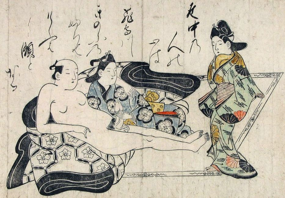 Homosexuality in japanese art