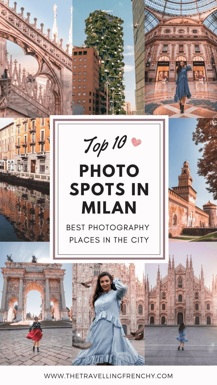 Top 10 Most Instagrammable Places in Milan