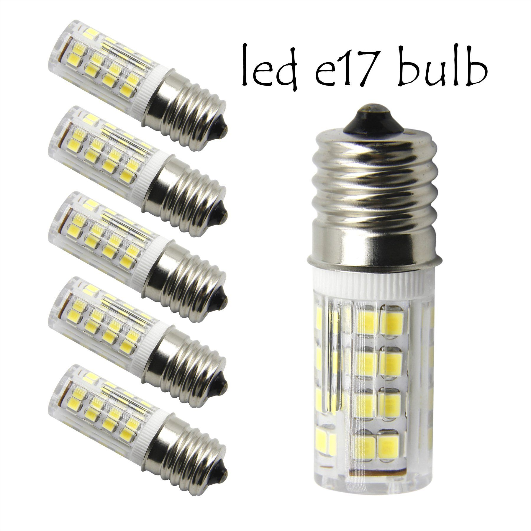 E17 Led T7 T8 Intermediate Base Led Appliance Bulb T8 T7 Lightbulb Dimmable 110 Volt 130v Pack Of 2 Microwave Oven Light Bulbsdayl Light Bulb Bulb Light Bulbs
