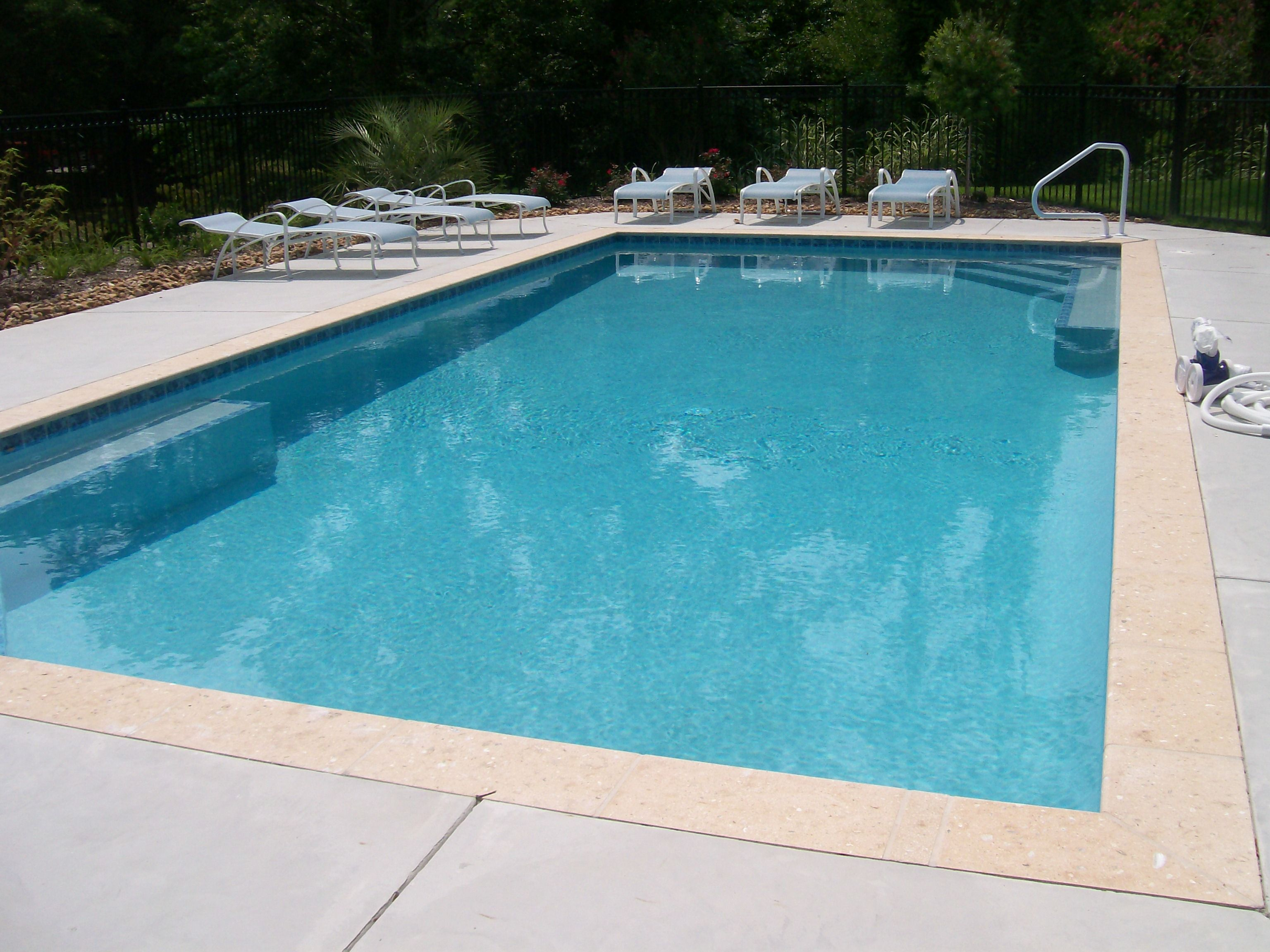 pictures of stamped concrete pool decks Google Search