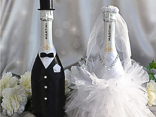 Фото на шампанское как сделать свадьба 11
