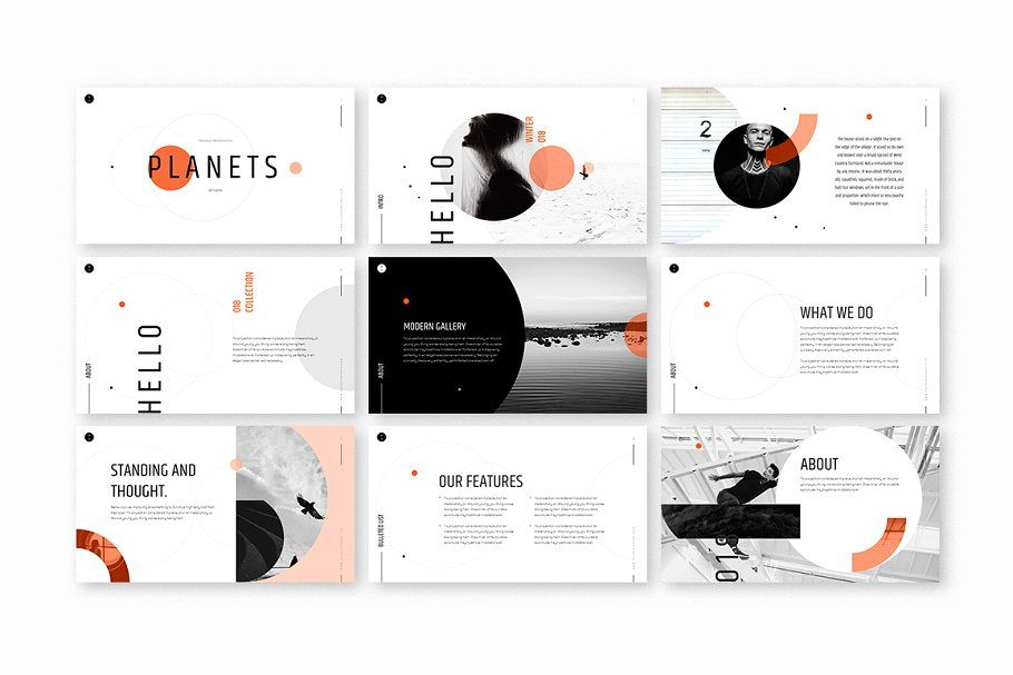 planets powerpoint template powerpoint planets template templates