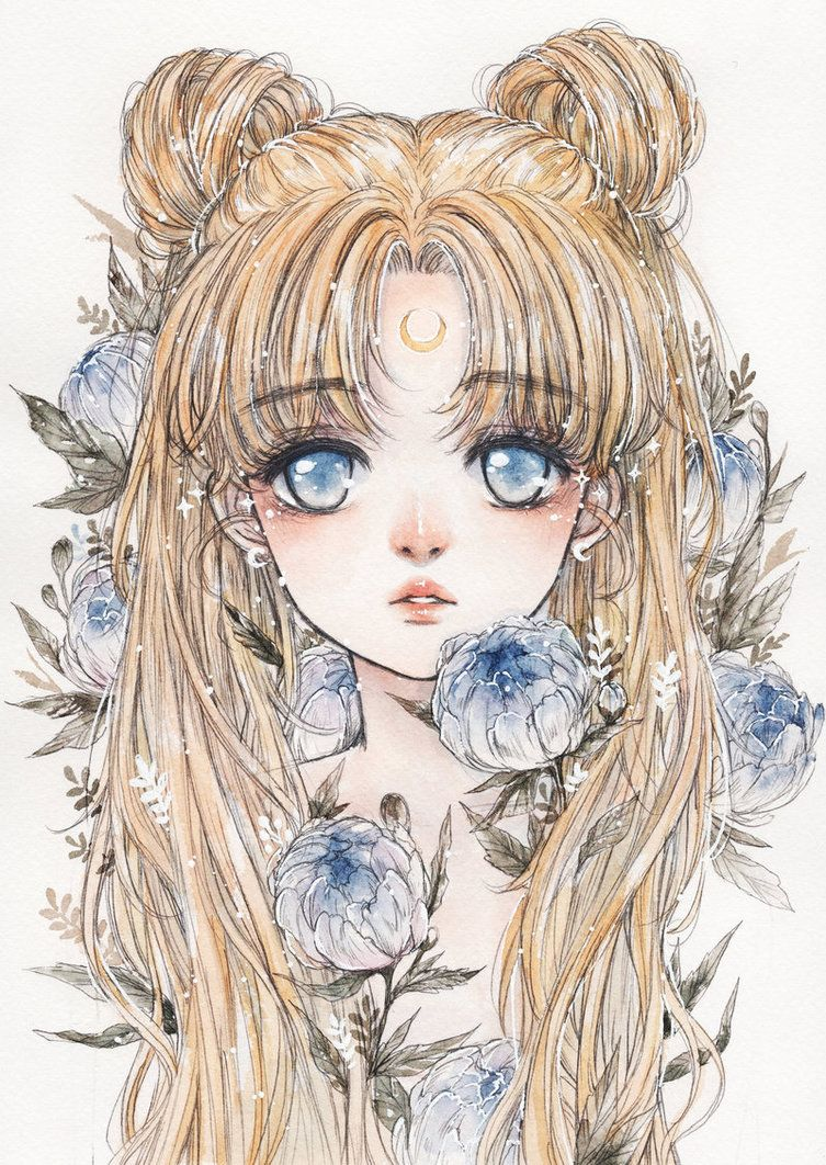 Instagram | Tumblr | Twitter | Facebook | Youtube | Art Shop | Webcomic Usagi and blue peonies ✦ Sailormoon fanbook preorder link: cherryrabbit.storenvy.com ✦ - Pencil &...