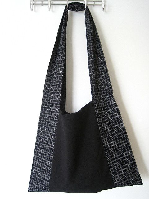 See How To Make This Monks Bag And Free Sewing Pattern On Greenie