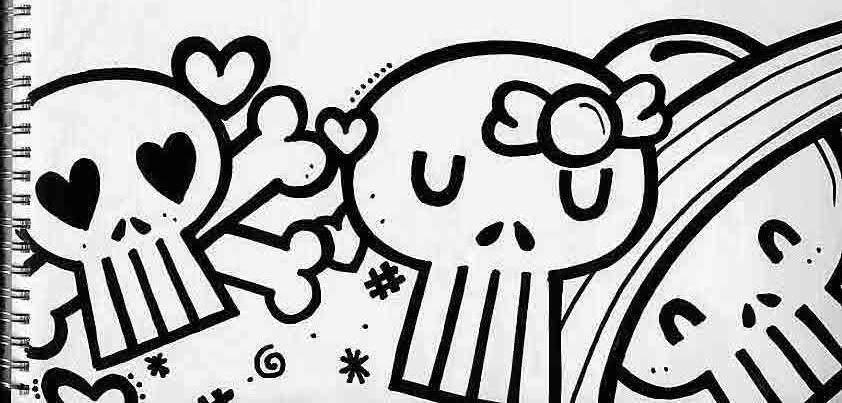 dibujos chidos de graffitis calaveras graffiti imágenes frases y