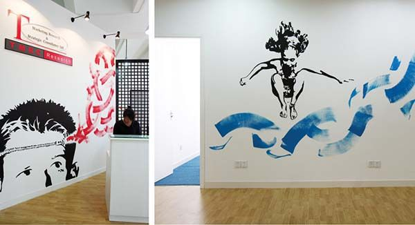 wall murals office. Cool Office Mural Images | Mural: Wall Murals For TMRC Who Are A Market I