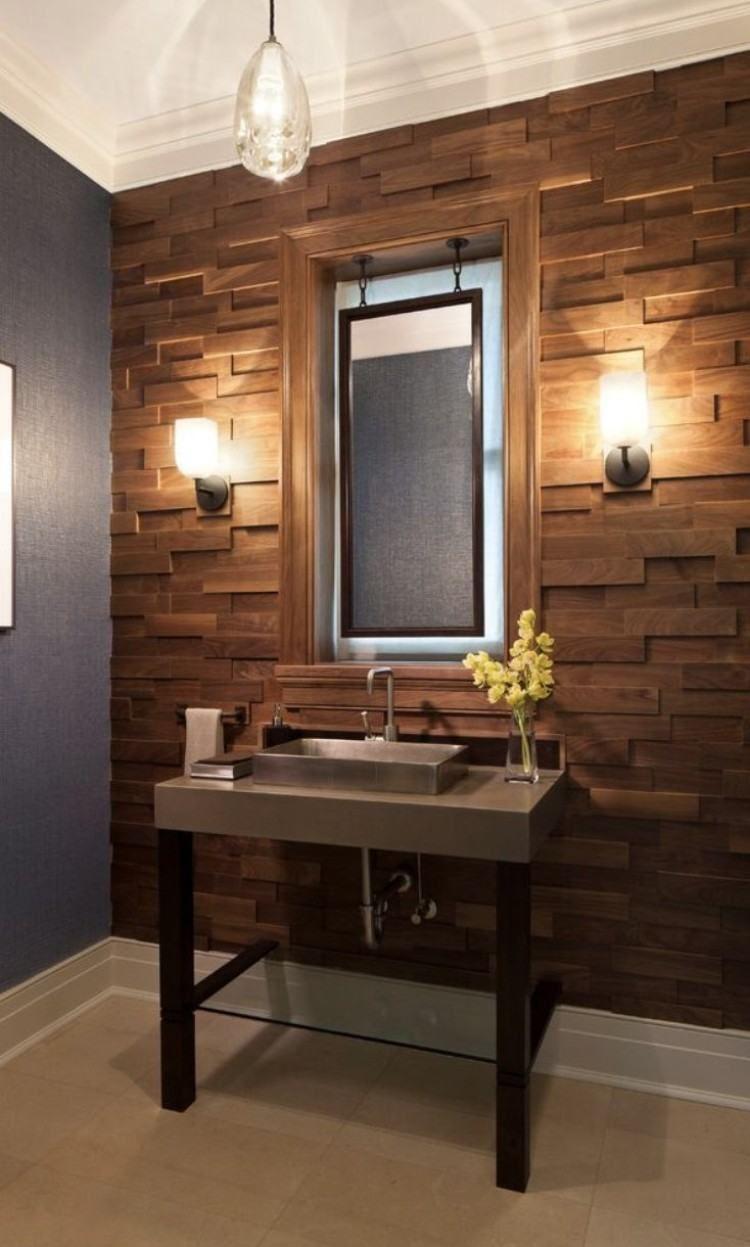 Déco murale salle de bain ou comment inviter le charme des murs d ...