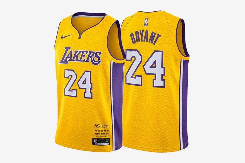 Kobe Bryant S Retirement Jerseys Can Be Yours For 524 08 Usd Kobe Bryant Retirement Kobe Bryant Lakers Kobe Bryant