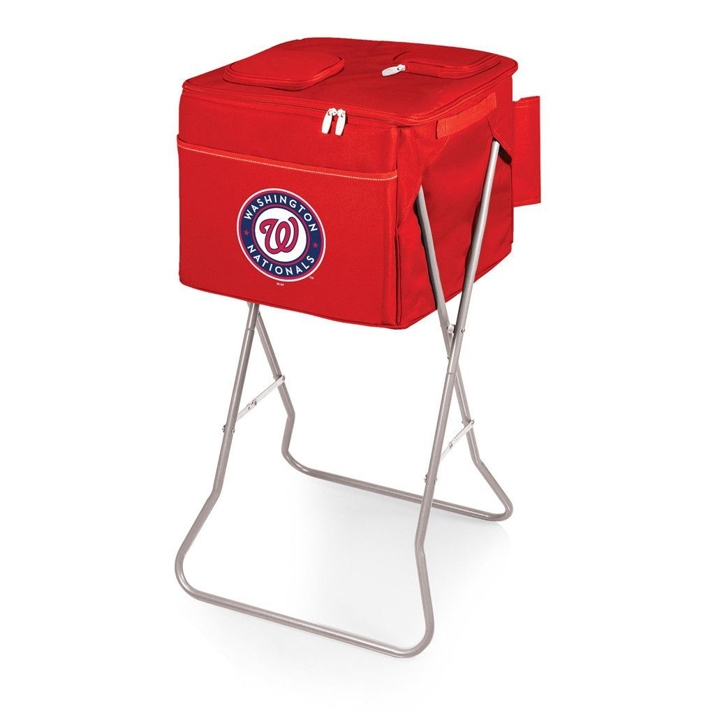 Washington Nationals Party Cube Cooler Tote w/ Stand