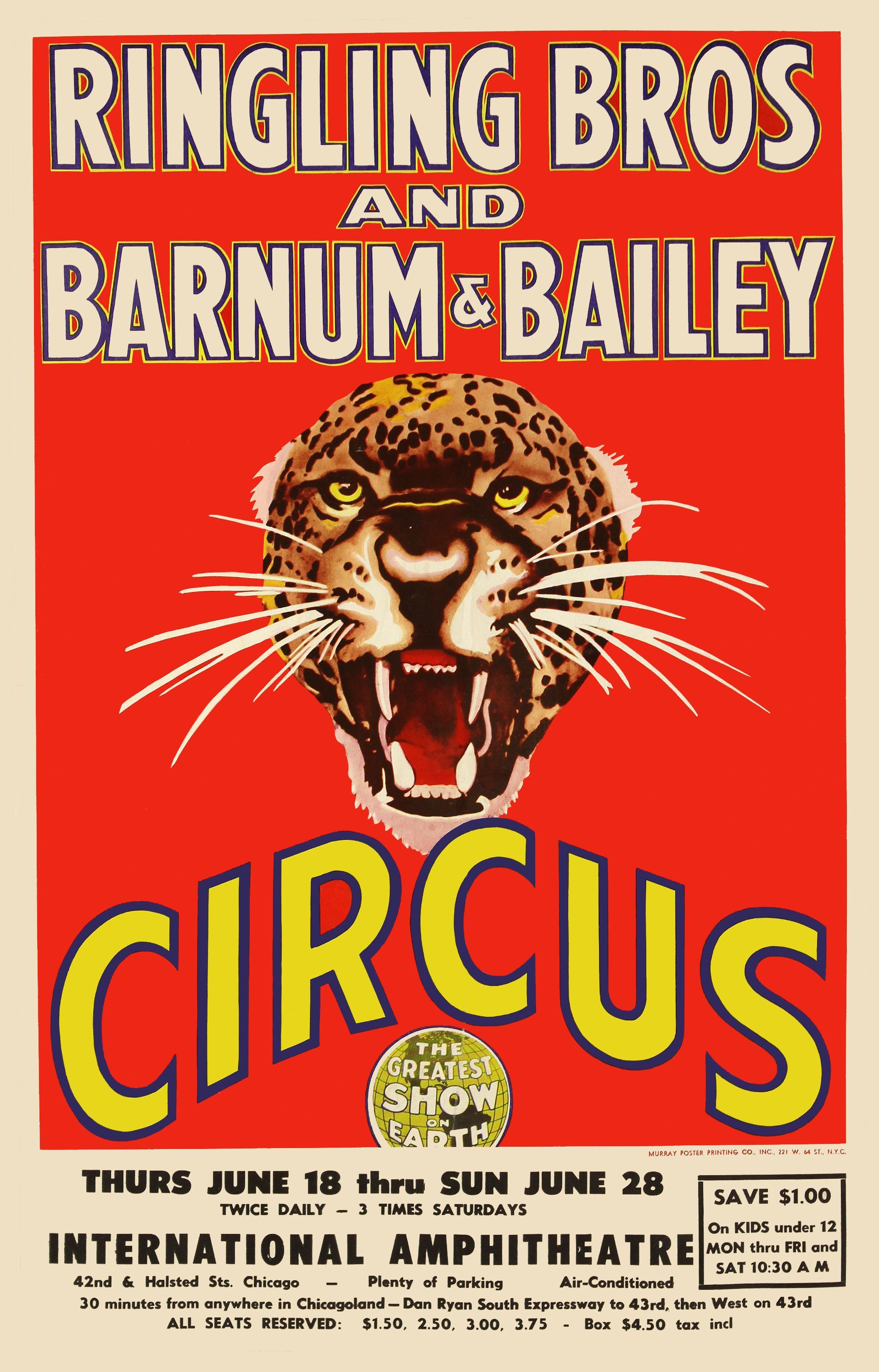 Ringling Brothers Vintage Posters