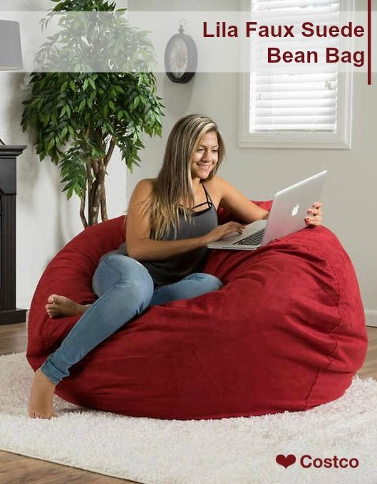 Super Lila Faux Suede Bean Bag In 2019 Gifting Inspiration Ncnpc Chair Design For Home Ncnpcorg