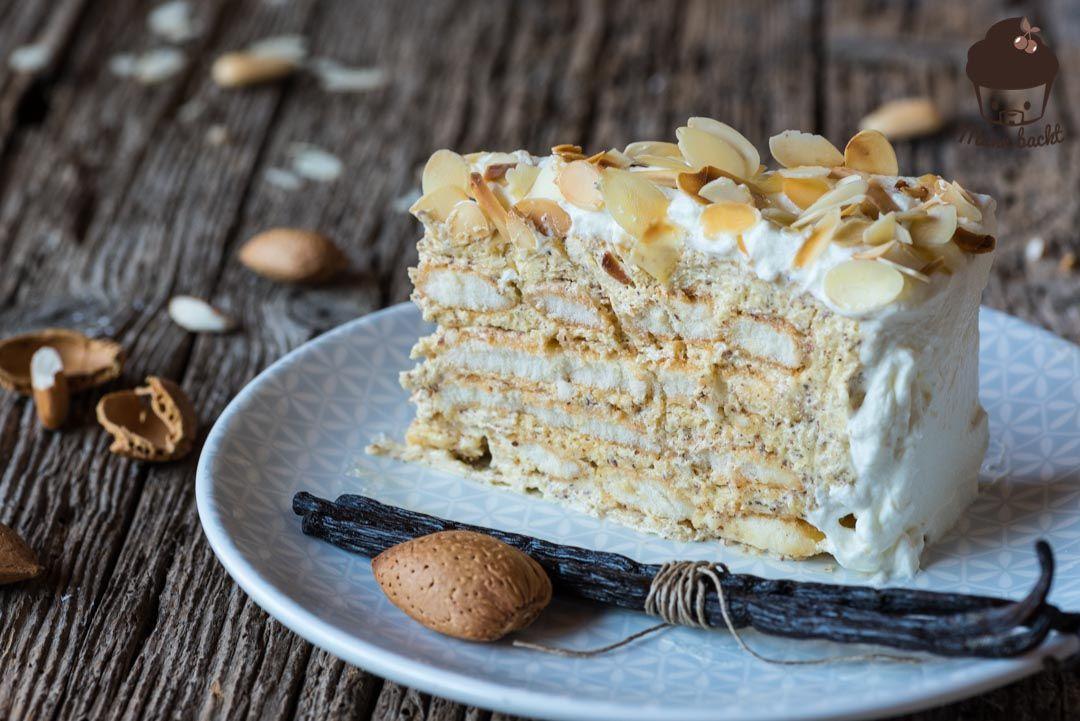 Malakoff Torte - einfaches Rezept, unwiderstehlich gut - Mann backt