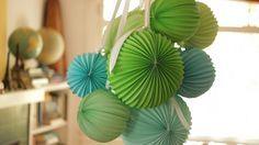 Lámparas de papel para decorar tu hogar, paso a paso