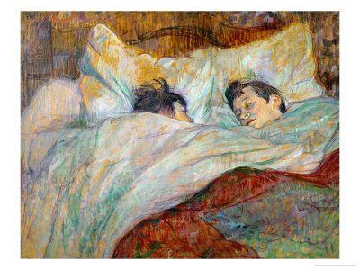 The Bed Le Lit 1892 Giclee Print Henri De Toulouse Lautrec Art Com Toulouse Lautrec Paintings Henri De Toulouse Lautrec Art