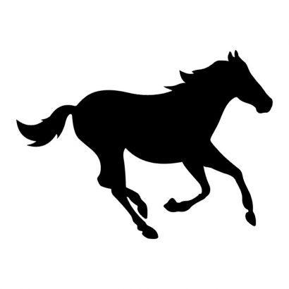 running horse black tattoo design tattoos pinterest