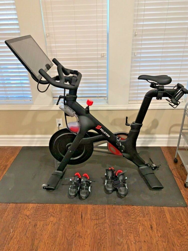 Ad Ebay Peloton Exercise Bike Biking Workout Exercise Bike For