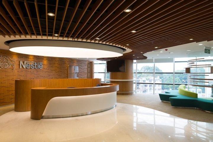 Thit K Ni Tht Vn Phng Nestle Ti Tp HCM 3 Kientrucnhapho Office Interior DesignDesign