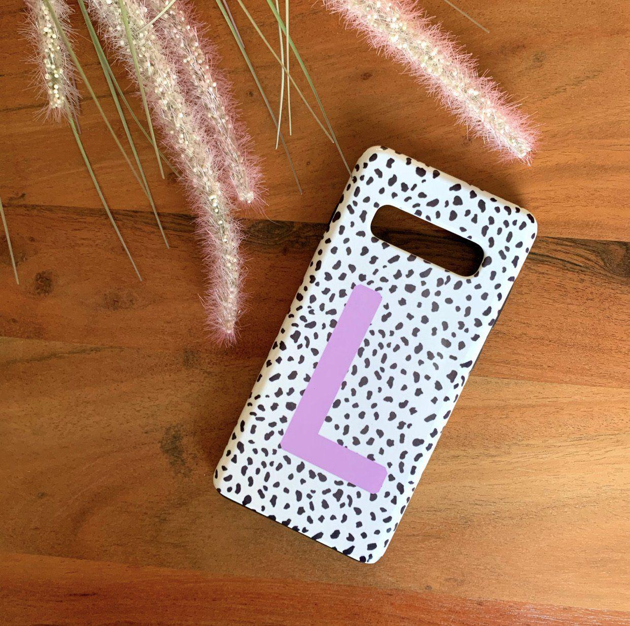 Lilac Personalised Dalmatian Phone Case - iPhone 11