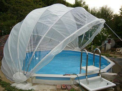 abdeckungen f r den pool ideal f r sommer und winter gartendeko pinterest winter garten. Black Bedroom Furniture Sets. Home Design Ideas