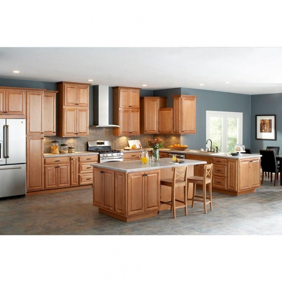Kitchen Divine L Shape Menard Kitchen Design Ideas With Light Oak Kitchen Cabinet Including Oak Wood Barstool Dining Chair A Unfinished Kitchen Cabinets Home Depot Kitchen Wooden Kitchen Cabinets