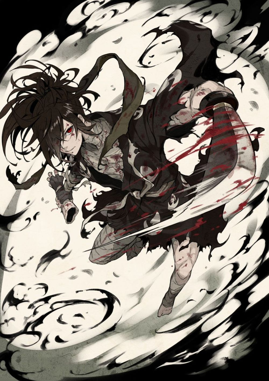 Divers dessins fanart de l'animé Dororo Anime, Desenhos