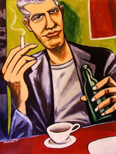 ANTHONY BOURDAIN KITCHEN CONFIDENTIAL POSTER ART PRINT BUY 2 GET ANY 2 FREE