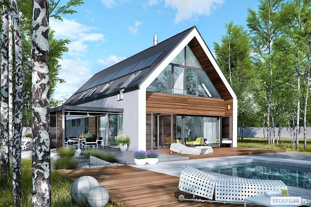 einfamilienhaus von pracownia projektowa archipelag light pinterest einfamilienhaus. Black Bedroom Furniture Sets. Home Design Ideas