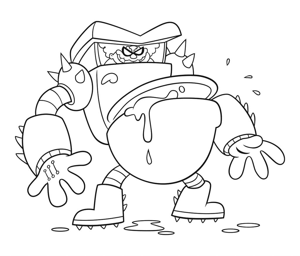 Captain Underpants Coloring Pages To Print on a budget