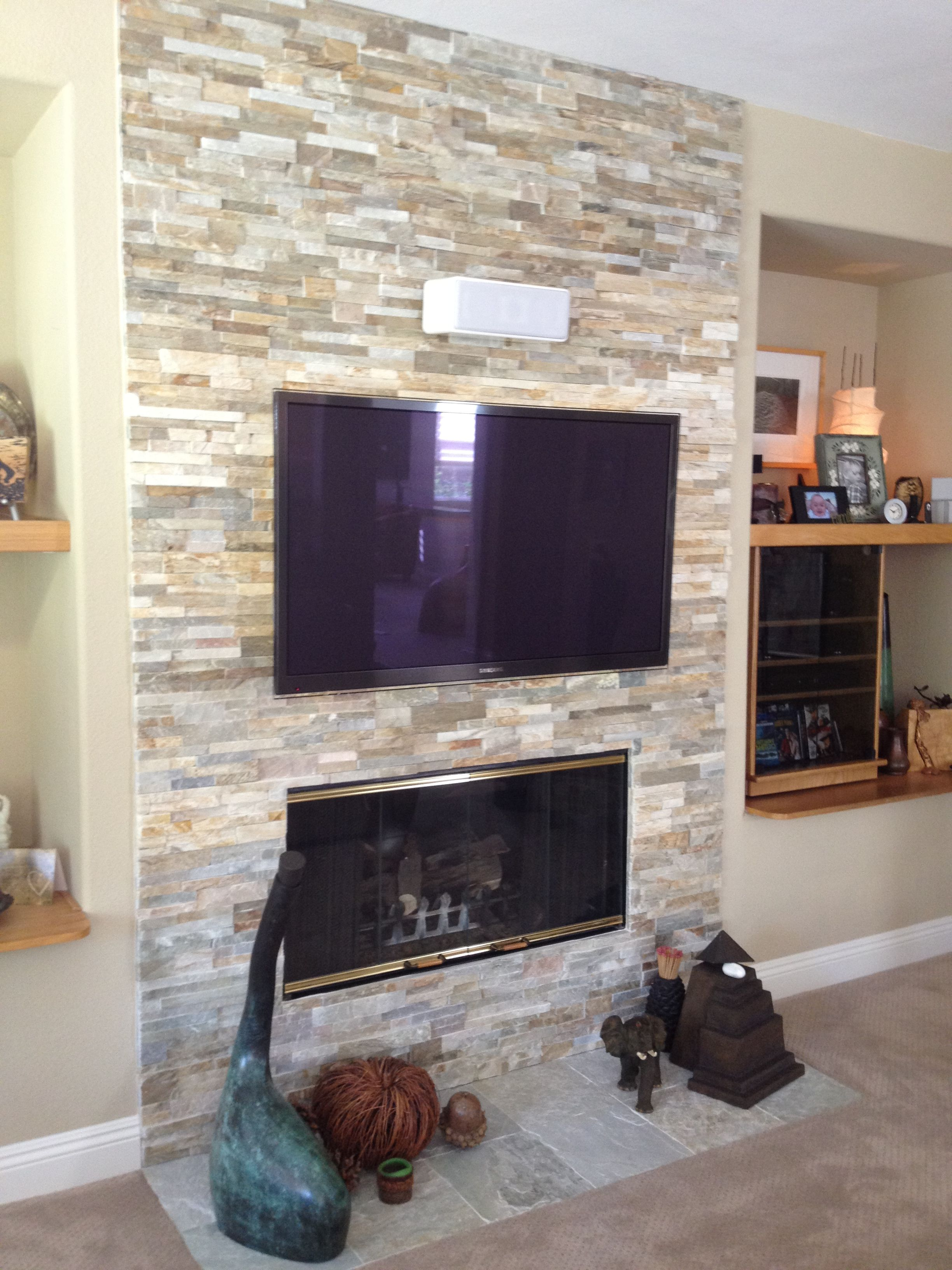 Designing A Living Room With A Fireplace And Tv Awesome Fireplace Remodels Ideas  Scroll Down For A Photo Of What This Review