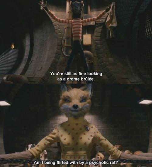 Fantastic Mr Fox C I N E M A Fantastic Mr Fox Fantastic Mr Fox Quotes Fox Memes
