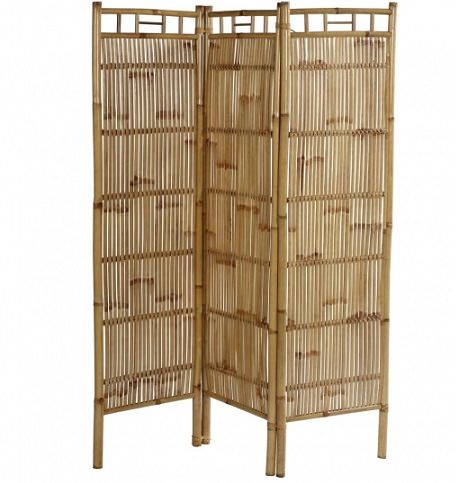Biombos baratos casa bamb folding screens biombos for Estores bambu ikea