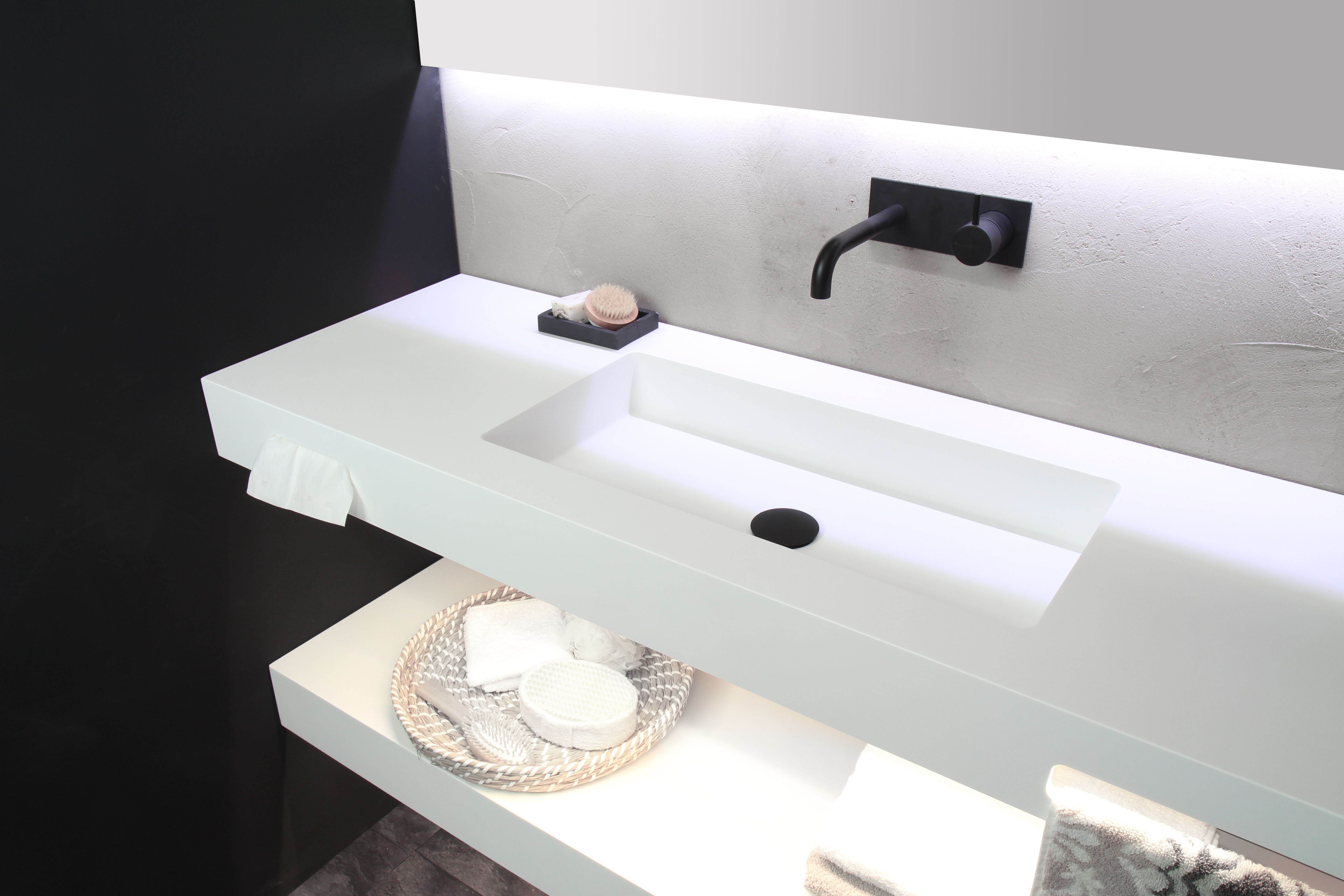 Design Badkamer Matten : Witte badkamer in ginneken te breda fors design