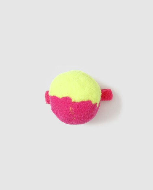 Coletero de niña Freestyle con pompón grande bicolor  e4ddd7d75f4