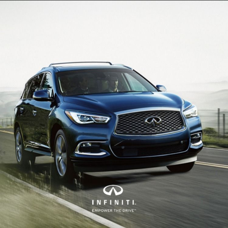 Luxury That Has Its Own Lane. The 2019 #QX60.