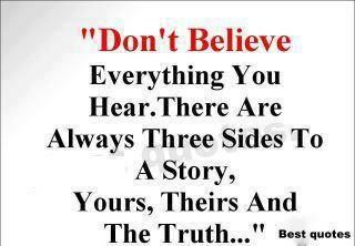 The Truth Will Always Prevail Maybe Not Now But In Time Shout Out