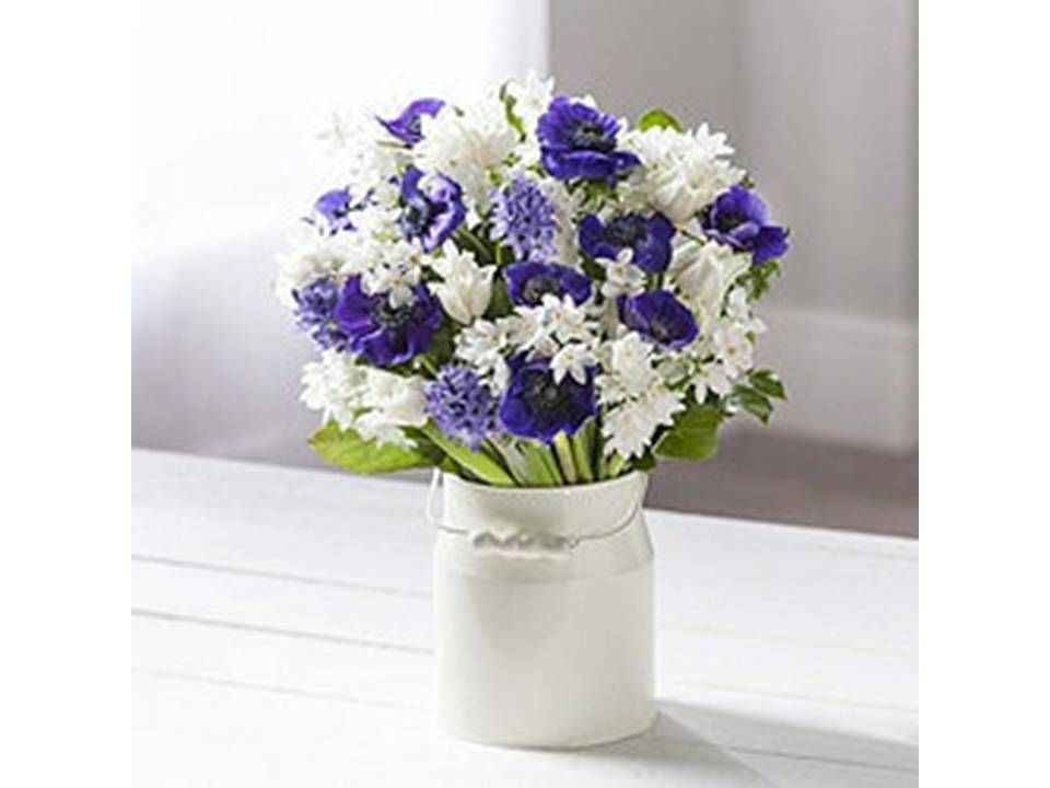 Spring bouquet of freshly cut flowers from the flower range at Tesco. #GotItForLess