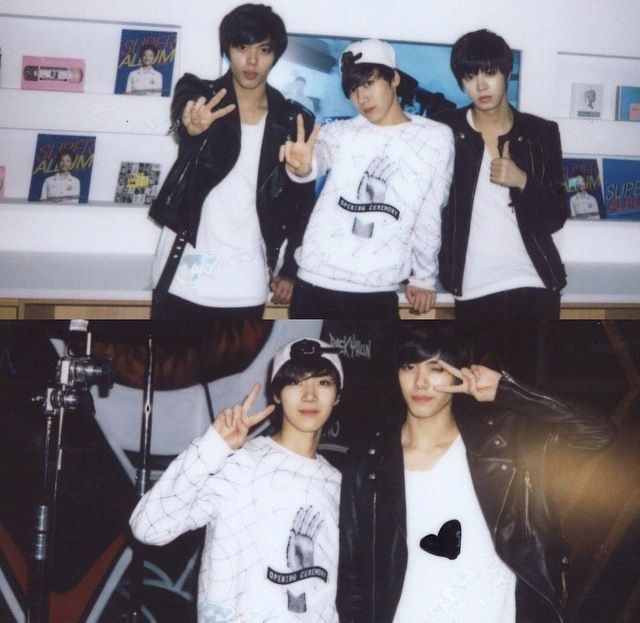 Hansol, Ten And Yuta #SMROOKIES