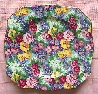 Royal Winton Chintz Floral Plate