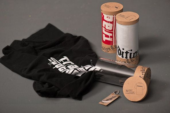 25 creative t shirt packaging design examples part 2 for Unique t shirt packaging ideas