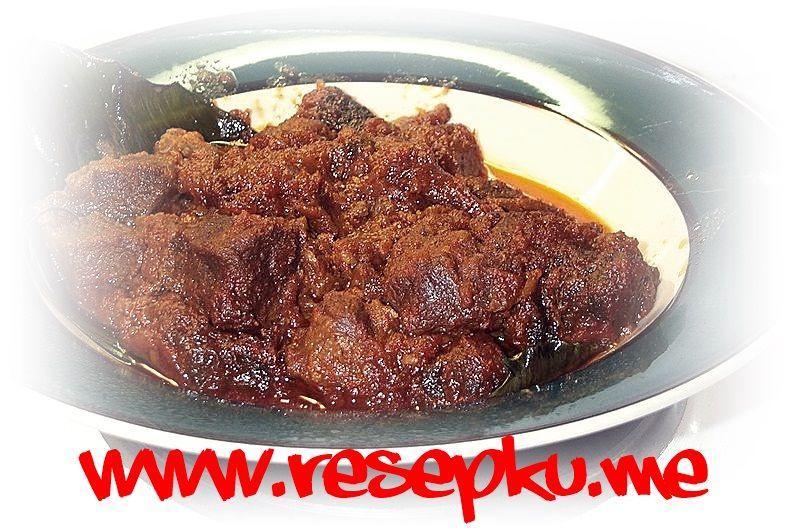 Resep Rendang Daging Sapi Sederhana Khas Padang Pariaman Masakan Indonesia Resep Masakan Resepku Me Makanan Resep Masakan Resep Masakan Indonesia
