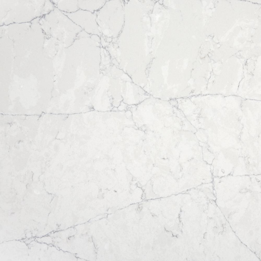 4 In X 2 In Quartz Countertop Sample In Pearl Jasmine