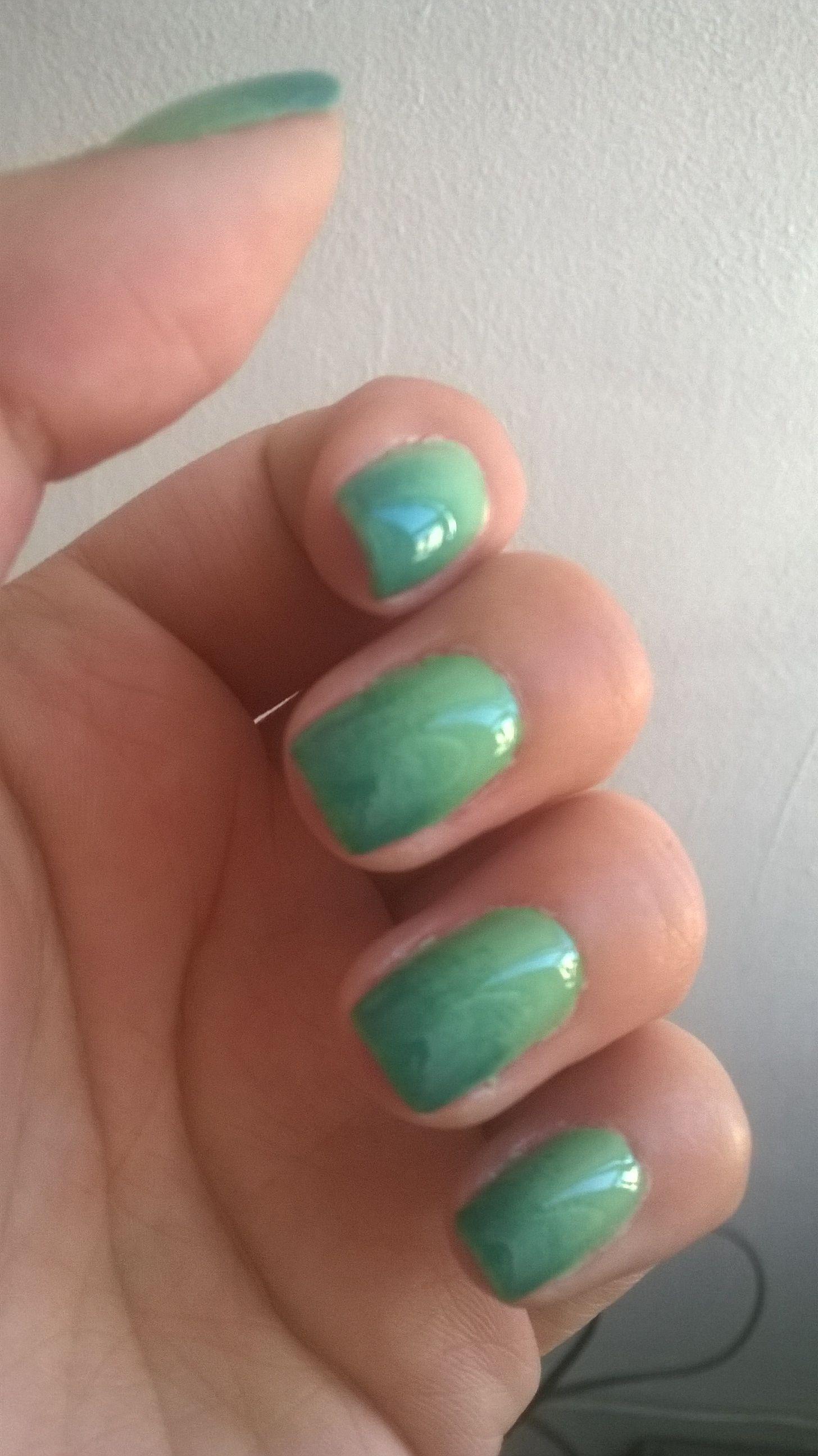 dark-light green nails | Nail designs | Pinterest | Green nail and Dark
