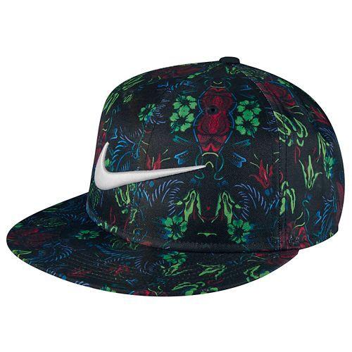 12e9eed0494 Nike Pro Floral Snapback - Men s