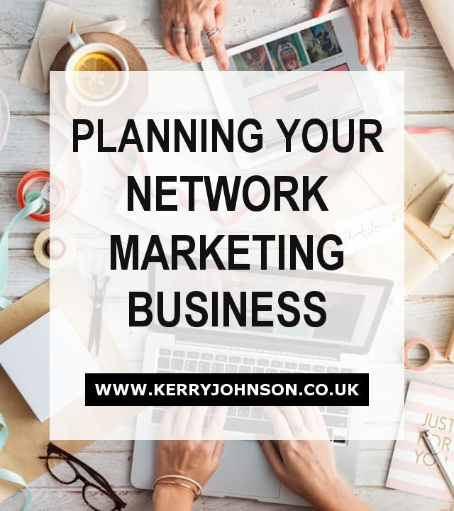 Planning Your Network Marketing Business Direct sales, Business