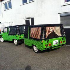remorque caravane mehari pinterest 2cv voiture et citro n. Black Bedroom Furniture Sets. Home Design Ideas