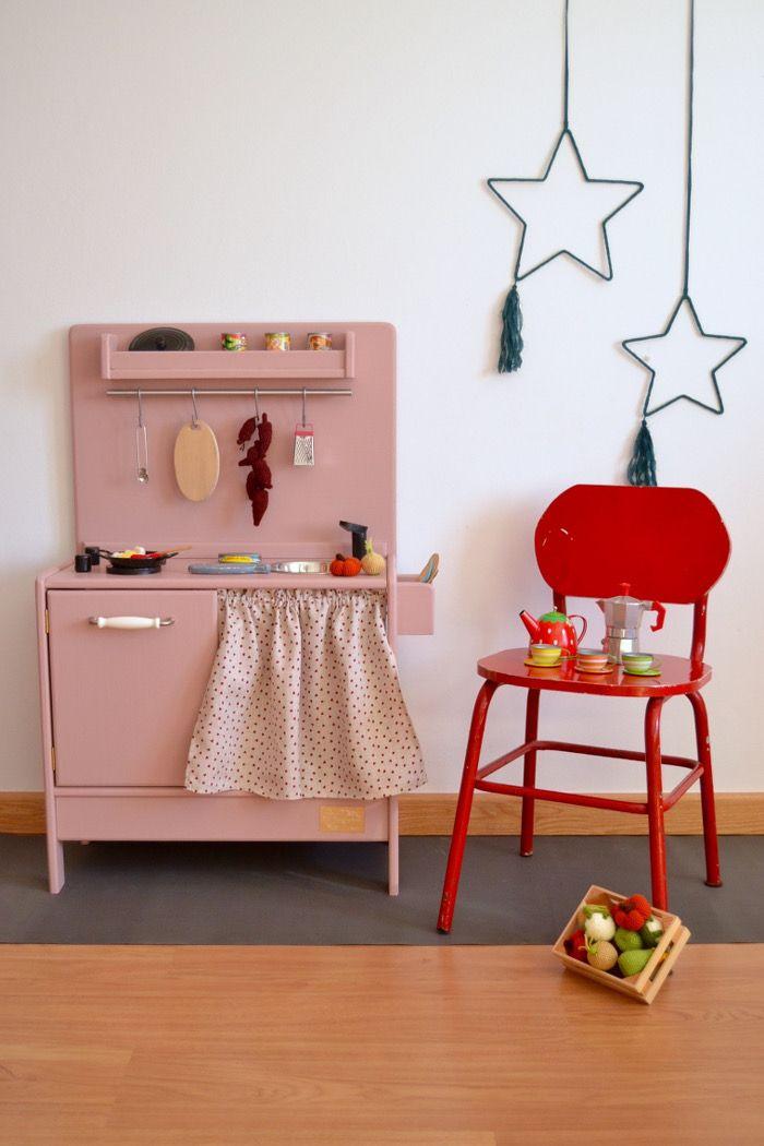 Wooden toy kitchen. BAM model. #woodentoy #woodenplaykitchen #macarenabilbao
