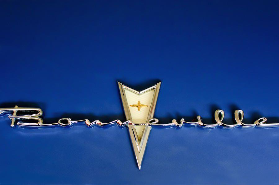 1959 Pontiac Bonneville Emblem Fordon