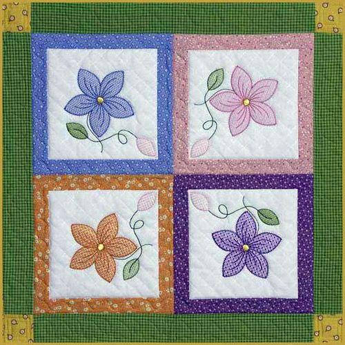 Image result for applique patterns flowers | applique ideas ... : applique quilt patterns flowers - Adamdwight.com