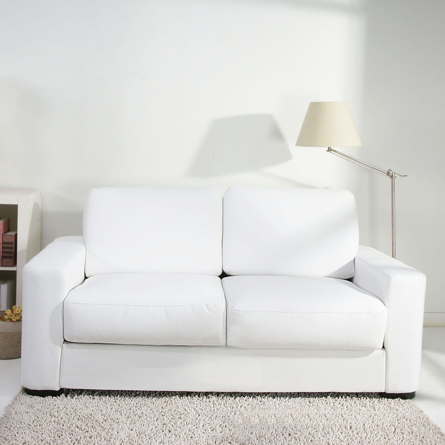 Small White Leather Sofa Bed White Leather Sofa Bed White